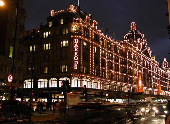 Harrods Mağazası Londra
