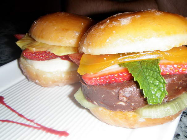 Nutella-hamburger