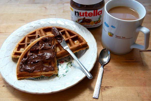 Nutella-ve-Waffle