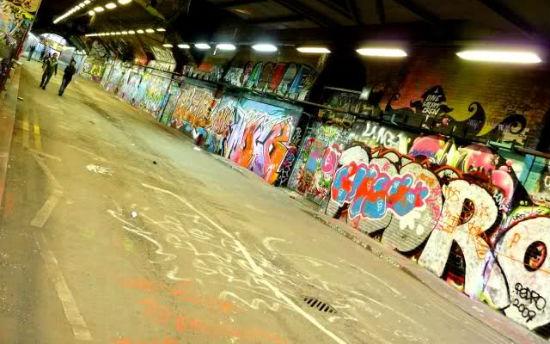 Waterloo Grafiti Sokağı