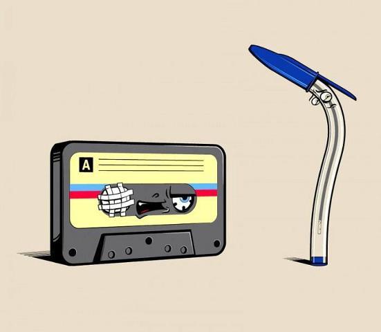 kaset kalem