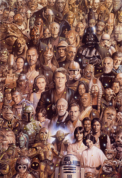 starwars illustration 5