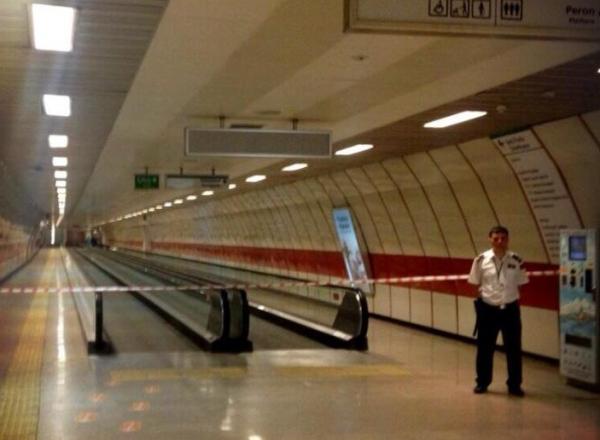 metro kapali