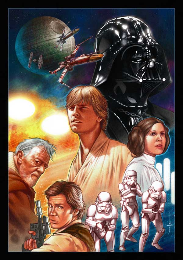 starwars illustration 1