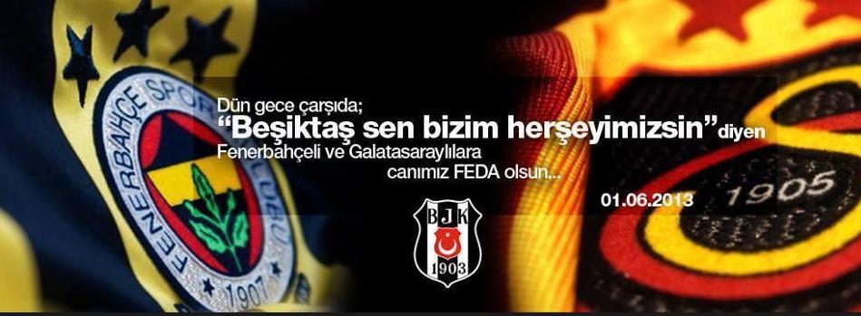 Çarşı Beşiktaş Galatasaray Fenerbahçe