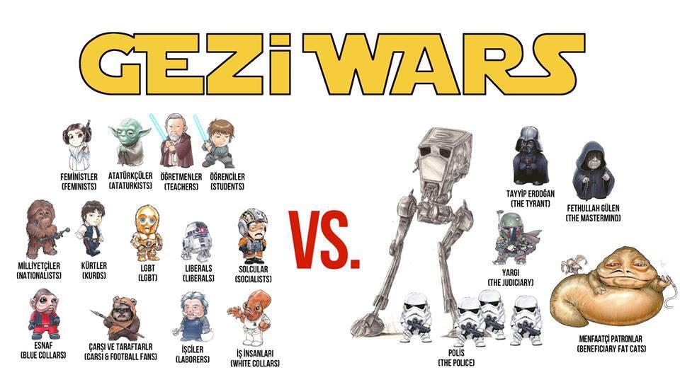gezi wars