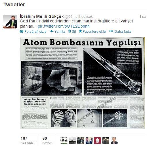 melih-gokcek-atom-bombasi-nasil-yapilir-tweet