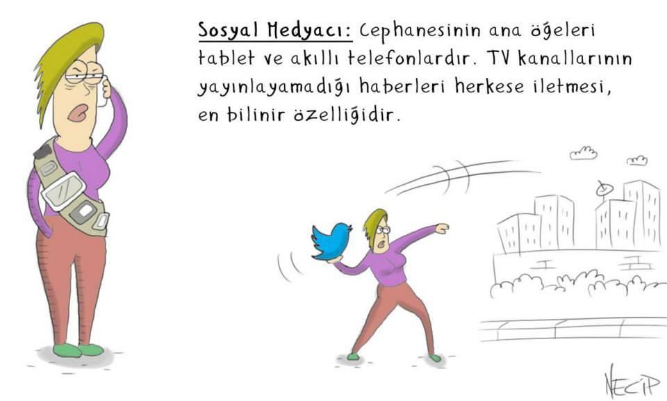 sosyal medyacı