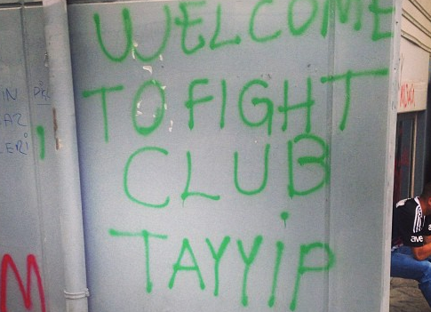 welcome the fight club tayyip