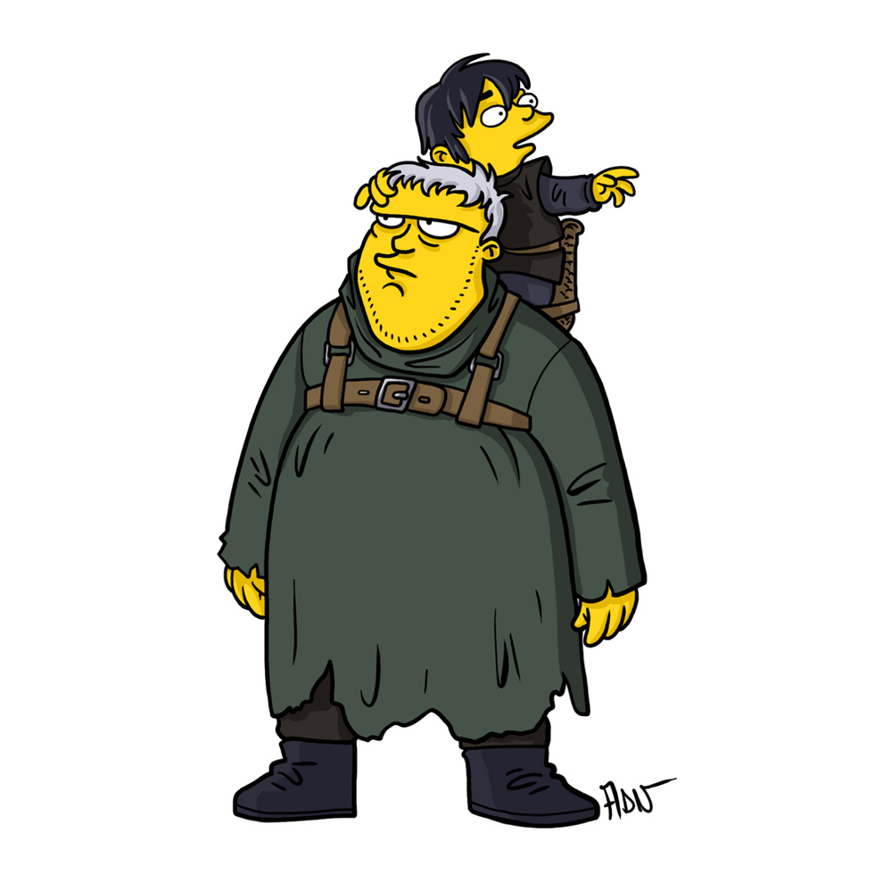 game-of-thrones-cizim-karikatur-simpsons-hodor-and-bran-stark
