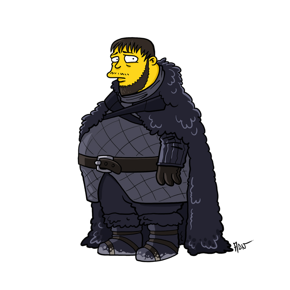 game-of-thrones-cizim-karikatur-simpsons-samwell-tarly