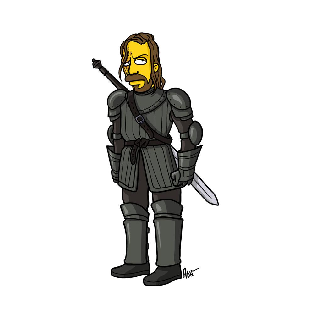 game-of-thrones-cizim-karikatur-simpsons-sandor-