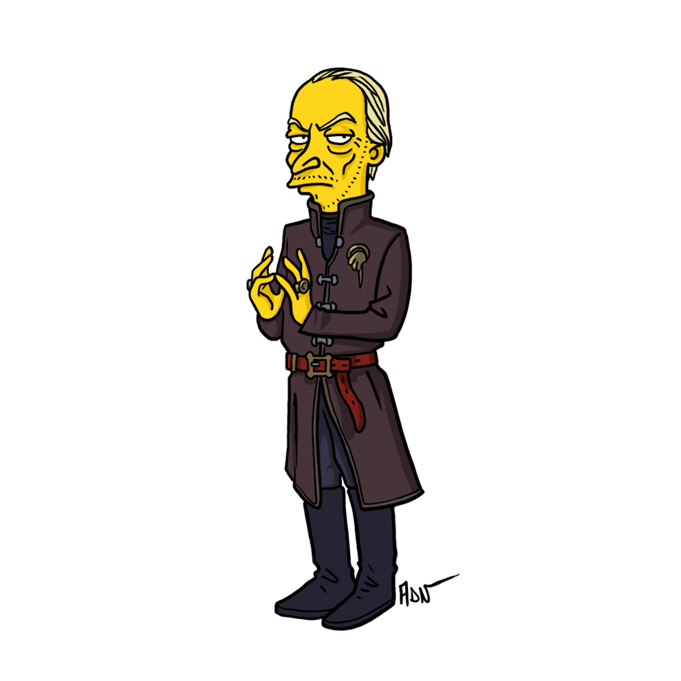 game-of-thrones-cizim-karikatur-simpsons-tywin-lannister