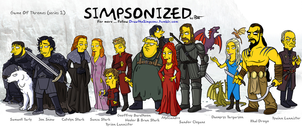 game-of-thrones-cizim-karikatur-simpsons
