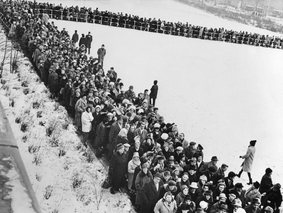 Mauer Berlin - Passierscheinabkommen f?r West-Berlin
