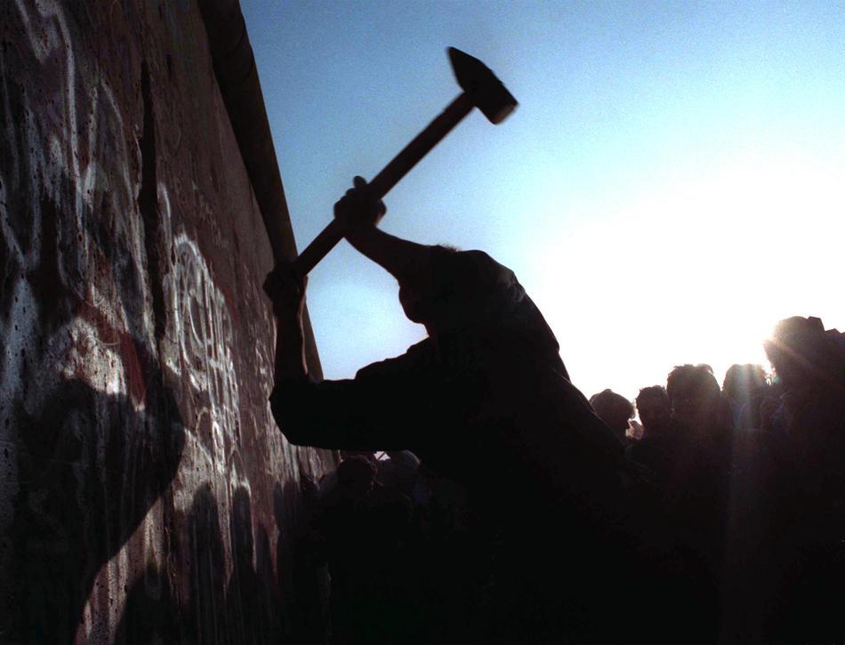 DEU Jahrestag Mauer