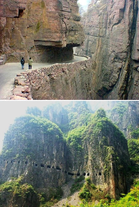 Guoliang Tunnel Road (China)