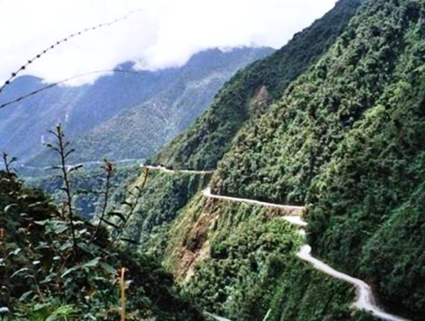 North Yungas Road, Bolivia