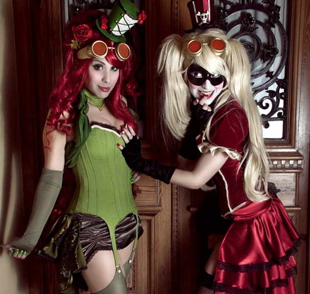 Poison-Ivy-Harley-Quinn-cosplay-photo