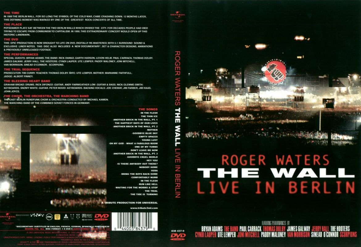 Rogers Waters - THE WALL live in Berlin