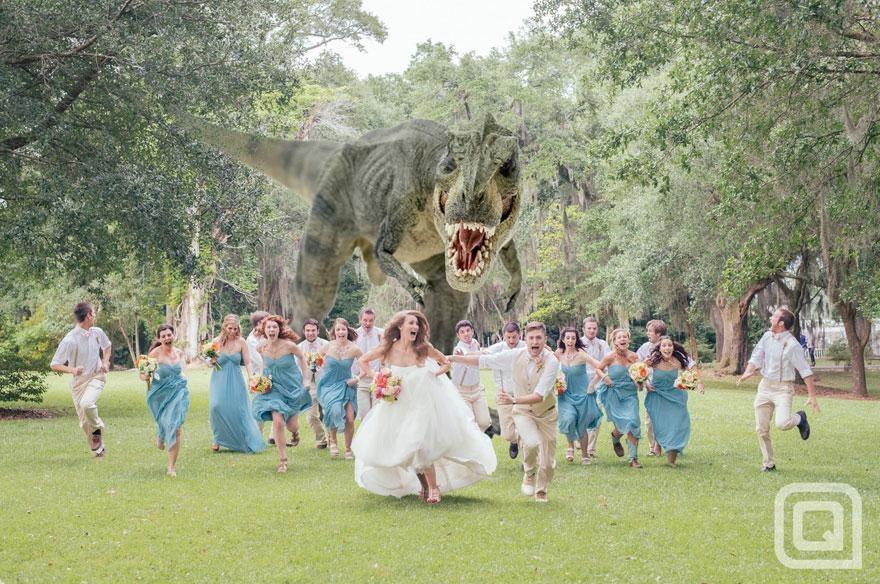 Yaratıcı düğün fotoğrafları (1)