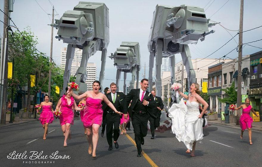 Yaratıcı düğün fotoğrafları (3)