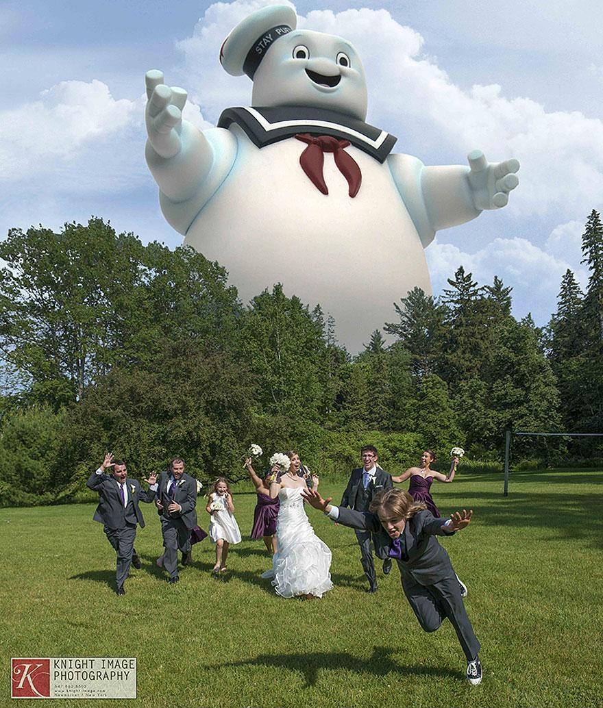 Yaratıcı düğün fotoğrafları (7)