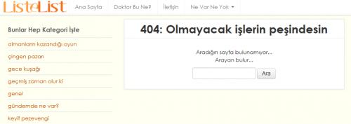 listelist 404