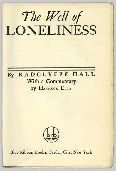the-well-of-loneliness-radclyffe-hall-yasak-kitaplar
