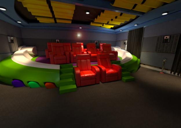 çocuk sinema salonu