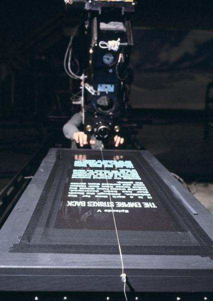 Filming The Empire Strikes Back Credits Roll-kamera-arkasi-fotograflari