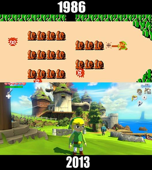 Legend-of-Zelda-evrimi-gelisimi-oyun
