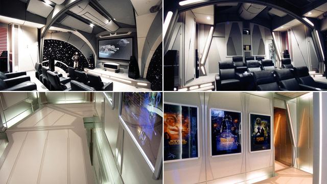Star wars ev sineması
