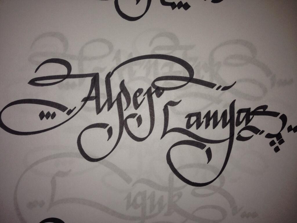 alper-kaligrafi