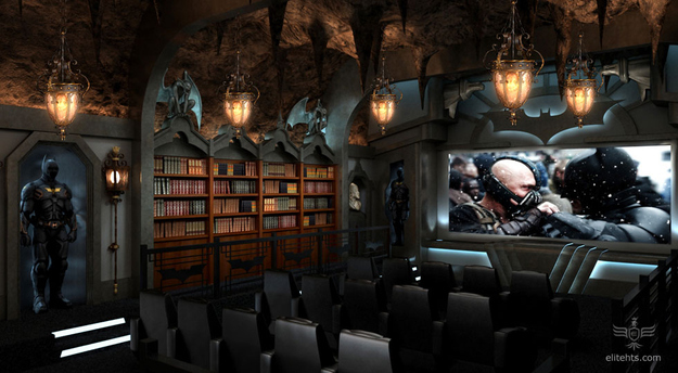 batcave sinema salonu