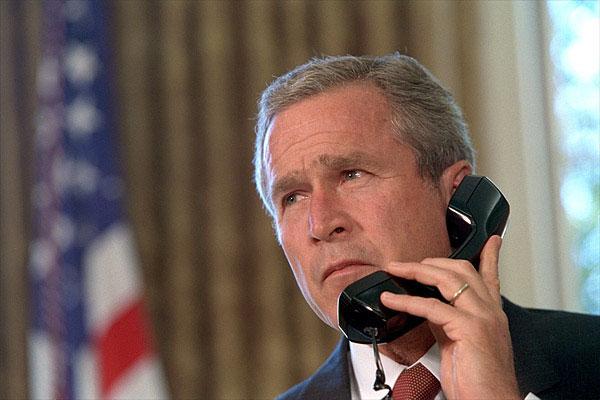 bush-11-eylul-telefonda