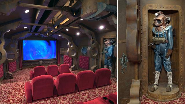 deniz altı ev sineması