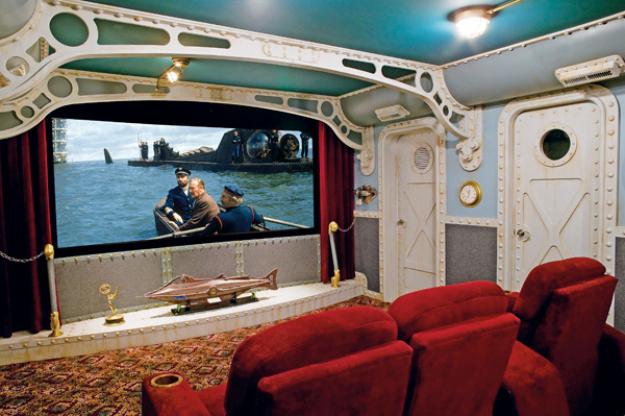 denizaltı ev sineması