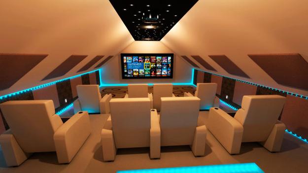 futurist sinema salonu