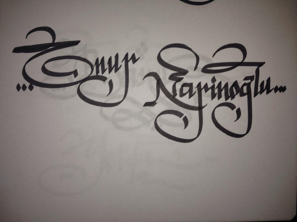 onur-kaligrafi