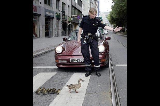 ordeklere-yol-veren-polis