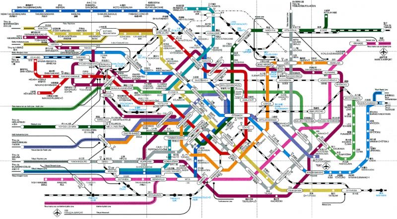 tokyo-metrosu-haritasi