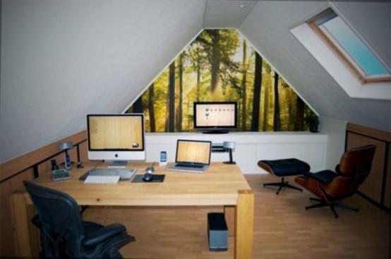 çatı katı ofis