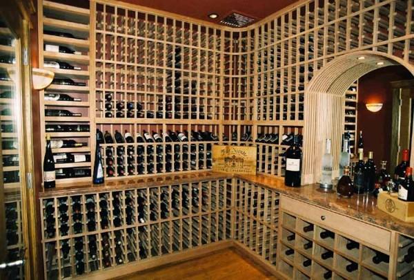 özel şarap mahzeni