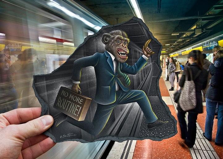 18-maymun-metro-fotograf-kara-kalem