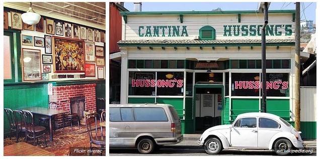 Cantina Hussong's - tarihi bar