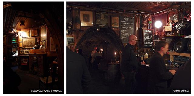 Gordon's Wine Bar tarihi barlar