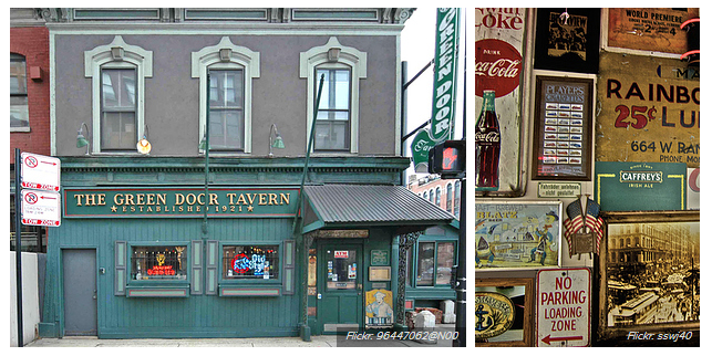 Green Door Tavern eski mekan