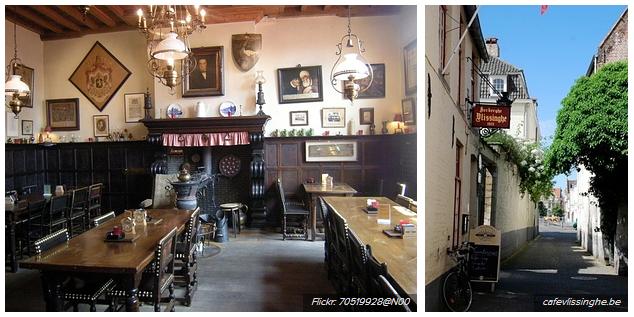 Herberg Vlissinghe - tarihi bar