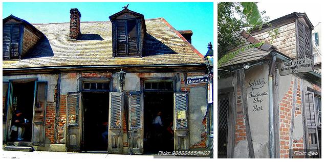 Lafitte's Blacksmith Shop - eski bar